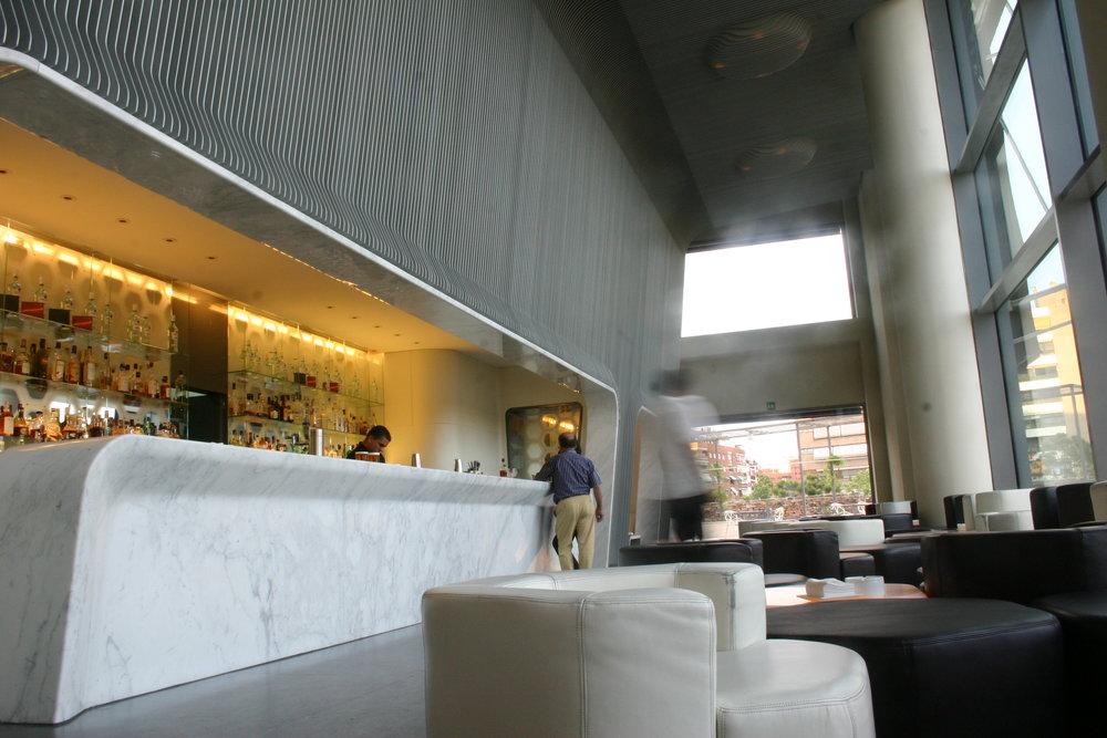 Hotel Silken Puerta América, Madrid - Marc Newson