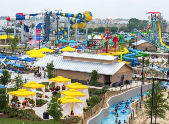 Soak up some sun during a day at this super cool water park!