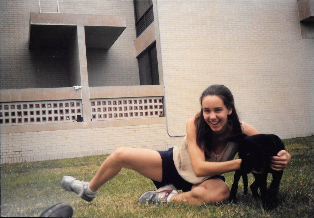 Me, spring 1992