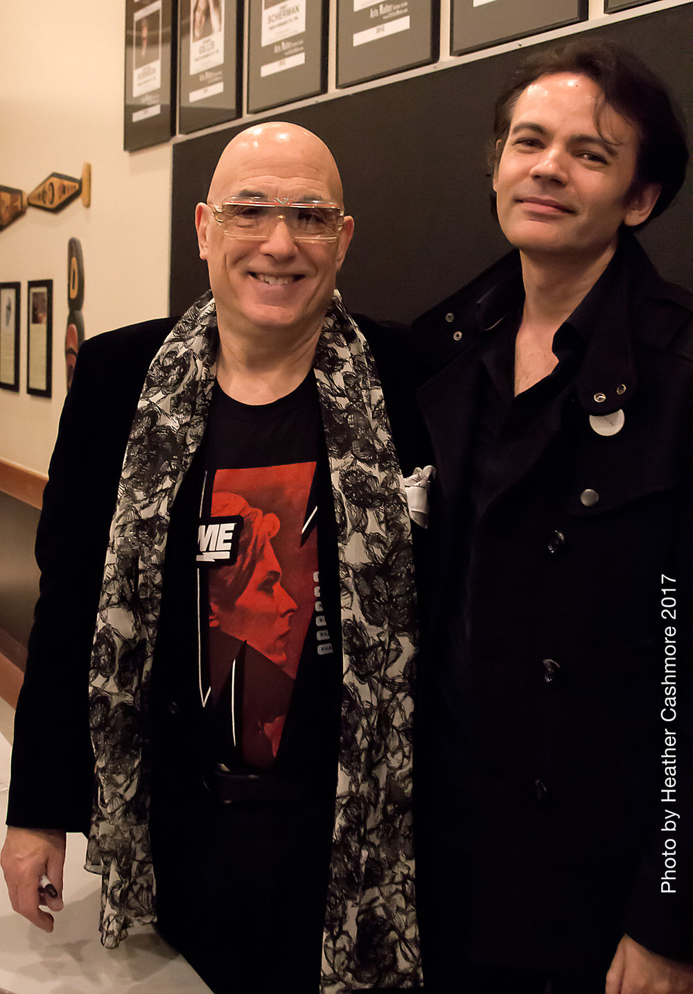 Mike Garson - This past March, Mitchell had the great pleasure of meeting one of his heroes, Mike Garson. A legendary piano/keyboard player and David Bowie collaborator since 1972. They had a great time talking about how much they both miss New York City and of course, David Bowie.http://mikegarson.com