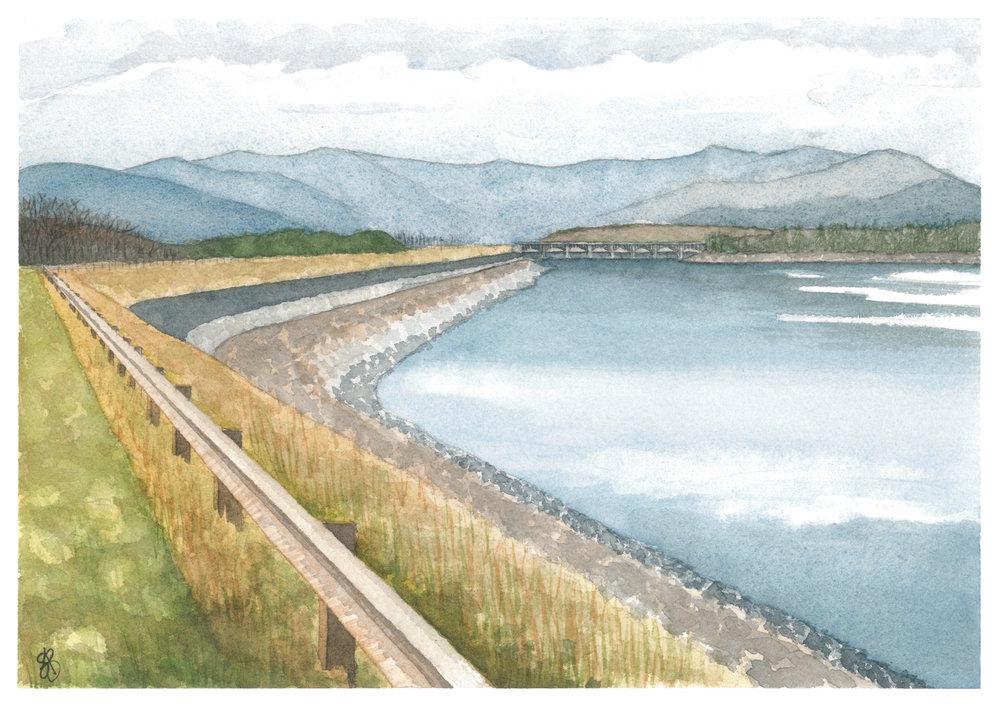 Ashokan Reservoir, New York State