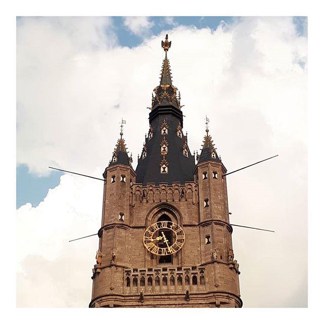 #ghent • • • • • #inspiration #nofilter #belgium #belgique #belge #sunnydays #bluesky #clouds #travel #travelling #gent