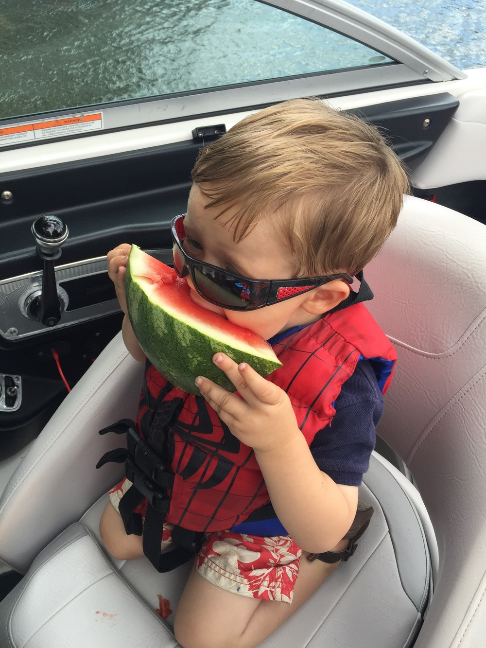 Watermelon is totally acceptable this weekend... just maybe go for a piece that isn't as big as your head.