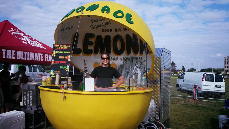 Summer Time Lemonade at TO Food Fest