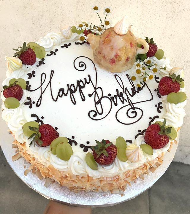 Happy Saturday & happy birthday!!! #bday #teaparty