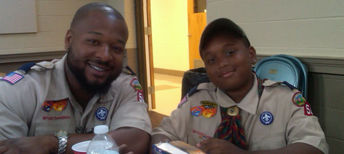 Scouting mentor and mentee