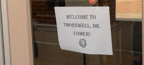 Thornwell School for the Arts welcomes Dr. Comer, Jan 2014