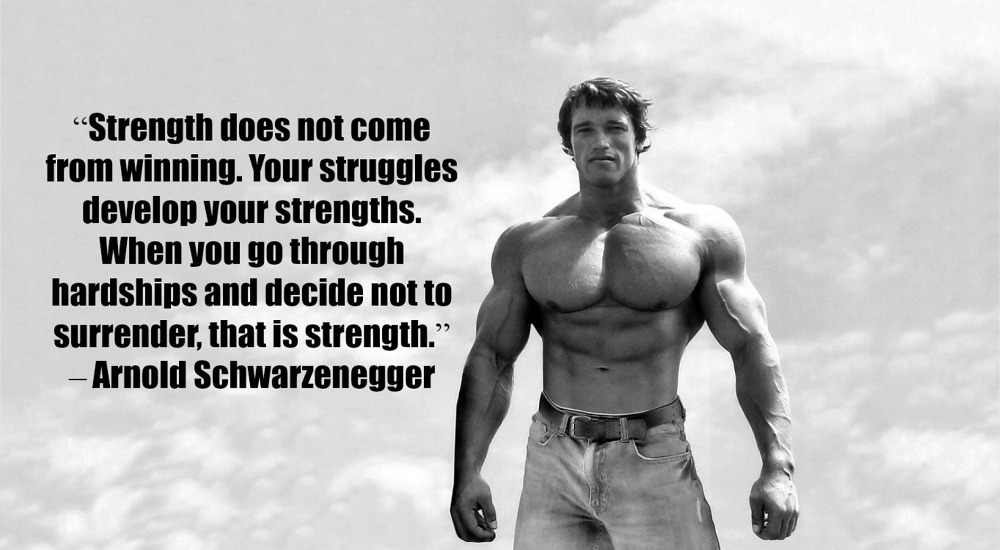 it's the struggle that makes you stronger ( image source )