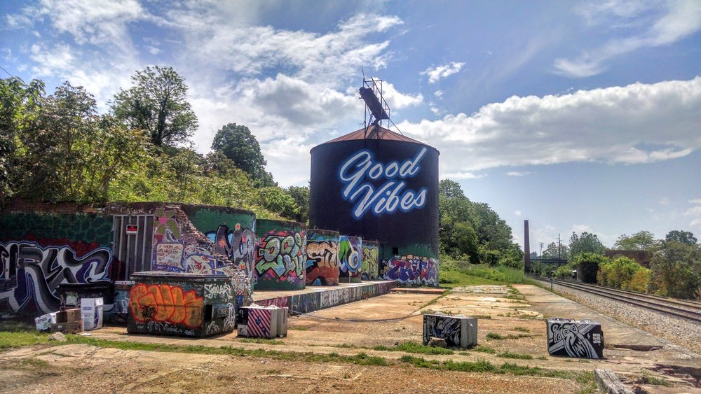 Asheville, NC - a place with good vibes ( image source )