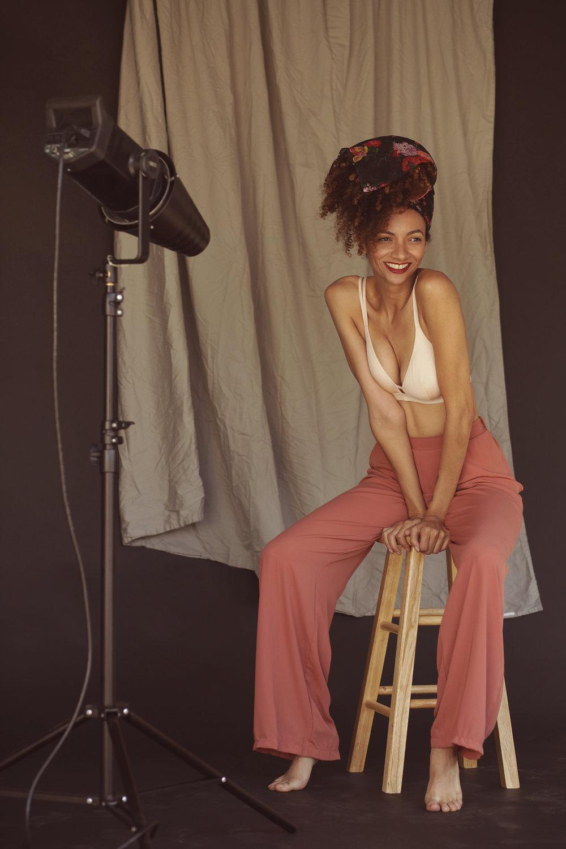 Shot by Sasha Sheldonfor True & Co lingerie.