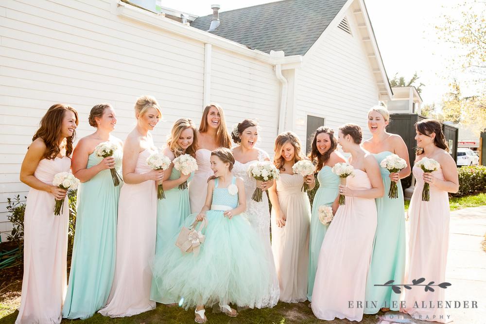 Pink_Mint_Bridesmaids_Dresses