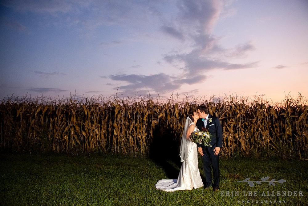 Bride_Groom_Cornfield_Sunset