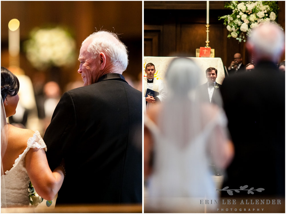 Father_Looks_At_Bride_When_Walking_Her_Down_The_Aisle