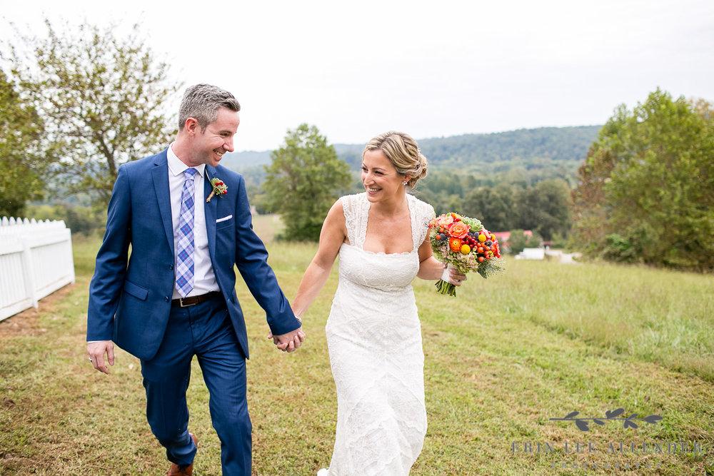 Bride_Groom_Walk_In_Field
