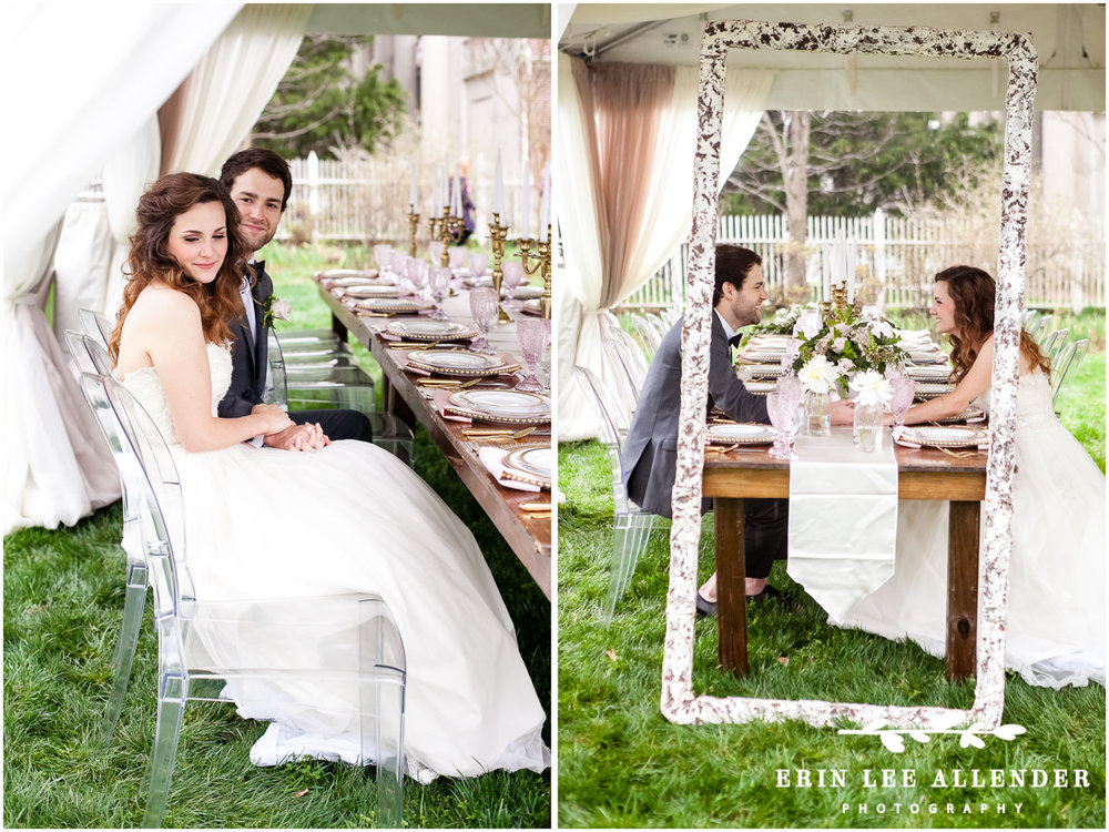 Vintage_Frame_At_Wedding_Table