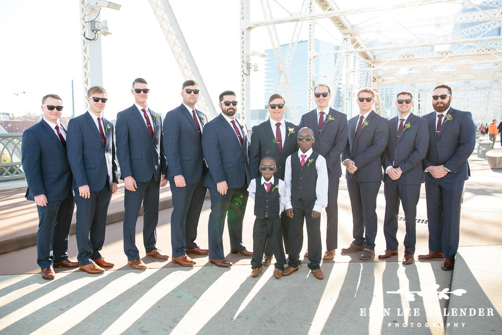 Groomsmen_Cranberry_Ties