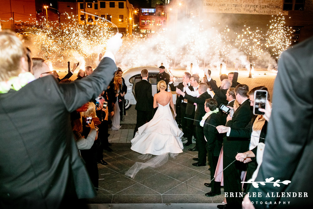 Pyrotechnic_Wedding_Exit
