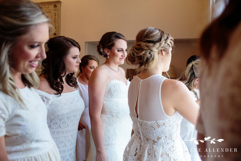 Bride_Watching_Guests_Arrive