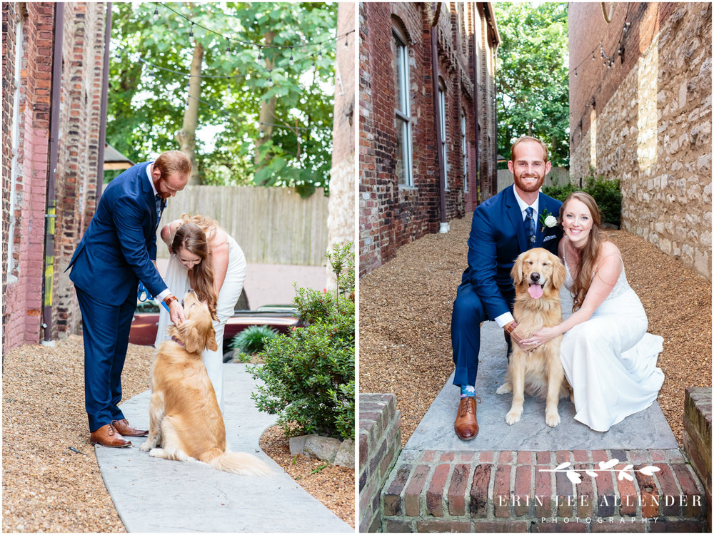 Bride_Groom_With_Dog