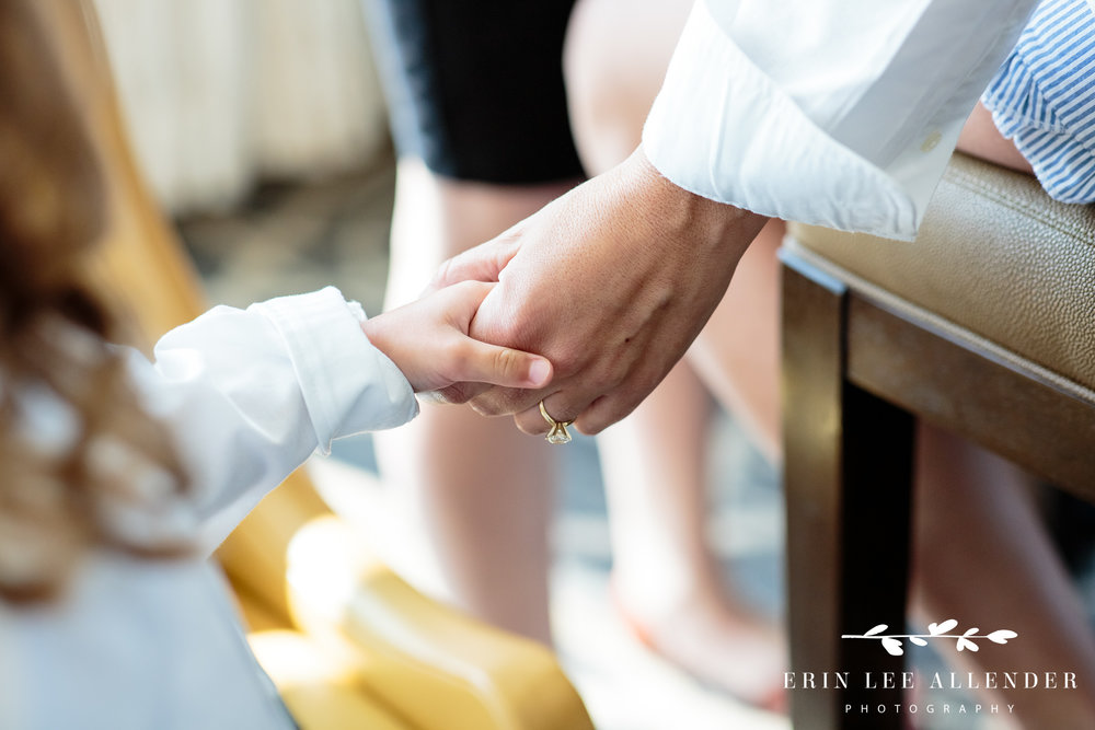 Flower_Girl_Holds_Bride's_Hand
