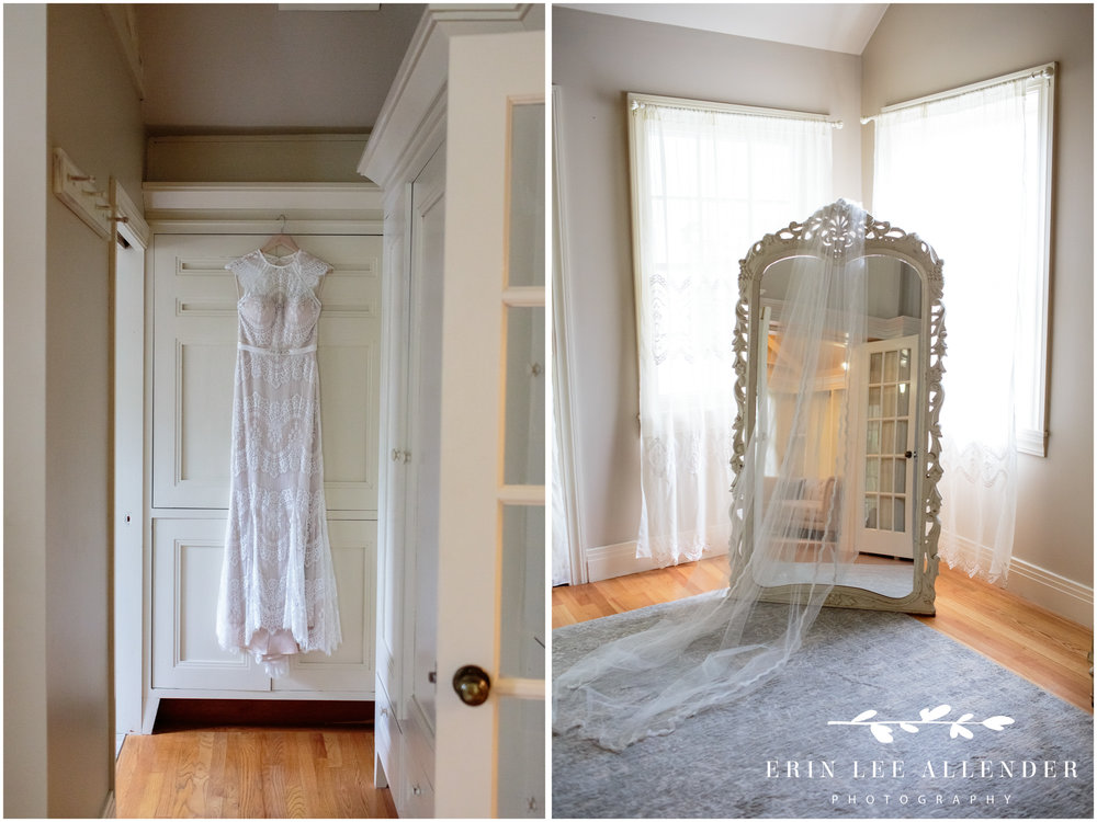 Bride's-dress-hanging