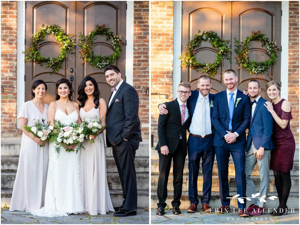 bride-with-siblings