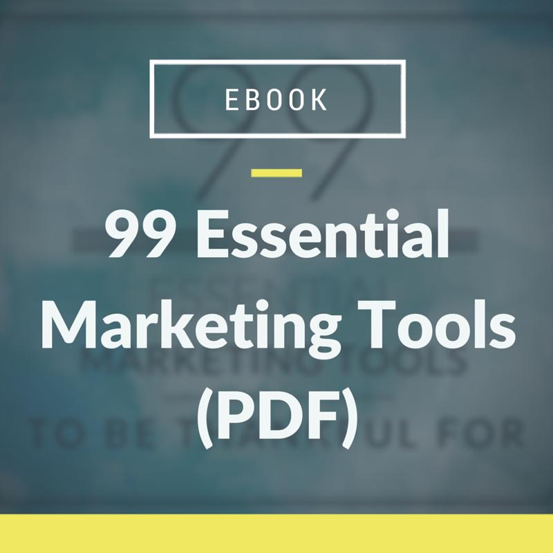99 Marketing Tools