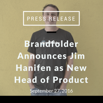 Jim Hanifen: New Head of Product