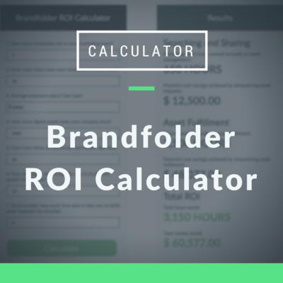 Brandfolder ROI Calculator