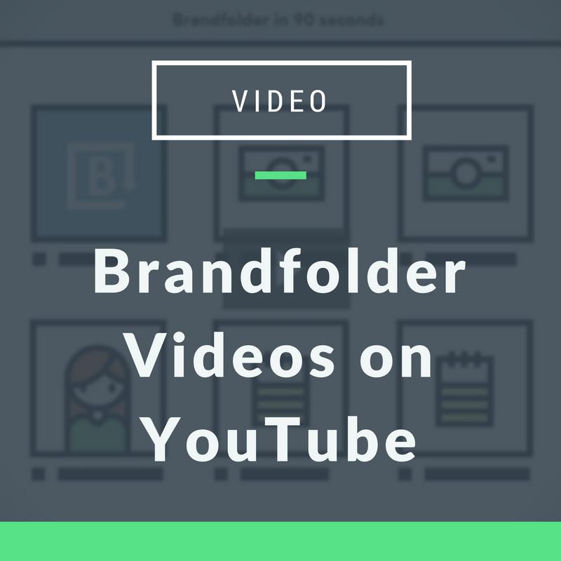 Brandfolder Videos on YouTube