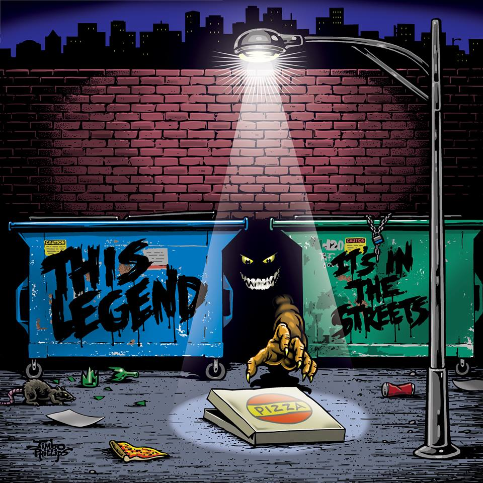 This Legend - It's In The Streets - Mastered by Piper Payne (2014)