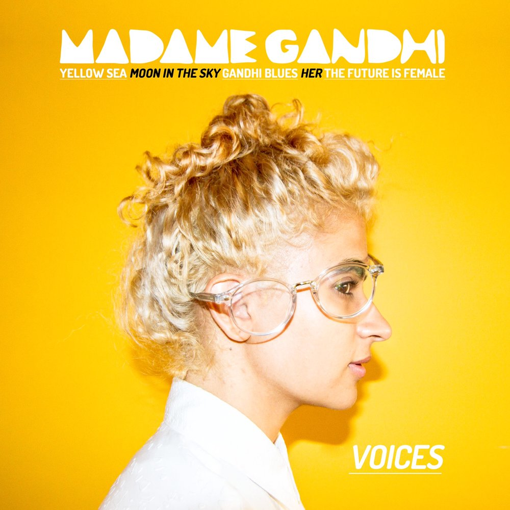 Madame Gandhi - Voices - Mastered by Piper Payne (2016)