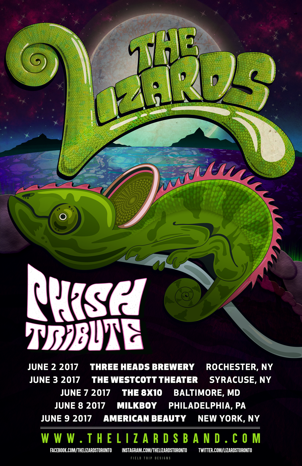 LIZARDS TOUR poster June 2017.png