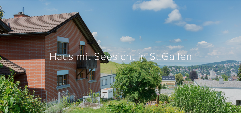 Copy of St.Gallen SG - CHF 1'650'000.-