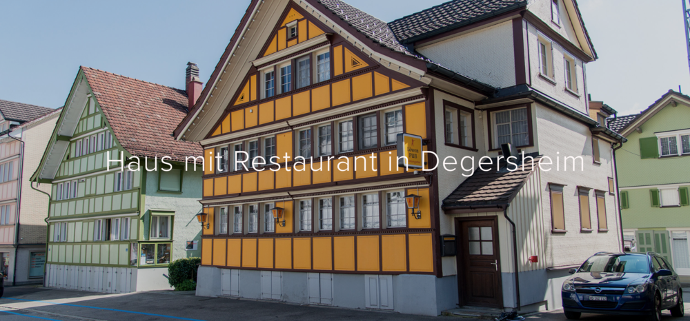 Copy of Copy of Degersheim SG - CHF 497'000.-