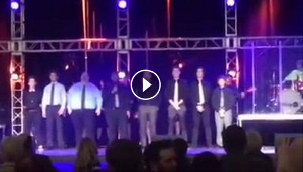 RCS students and teachers performing together at the 2017 RCS Gala!