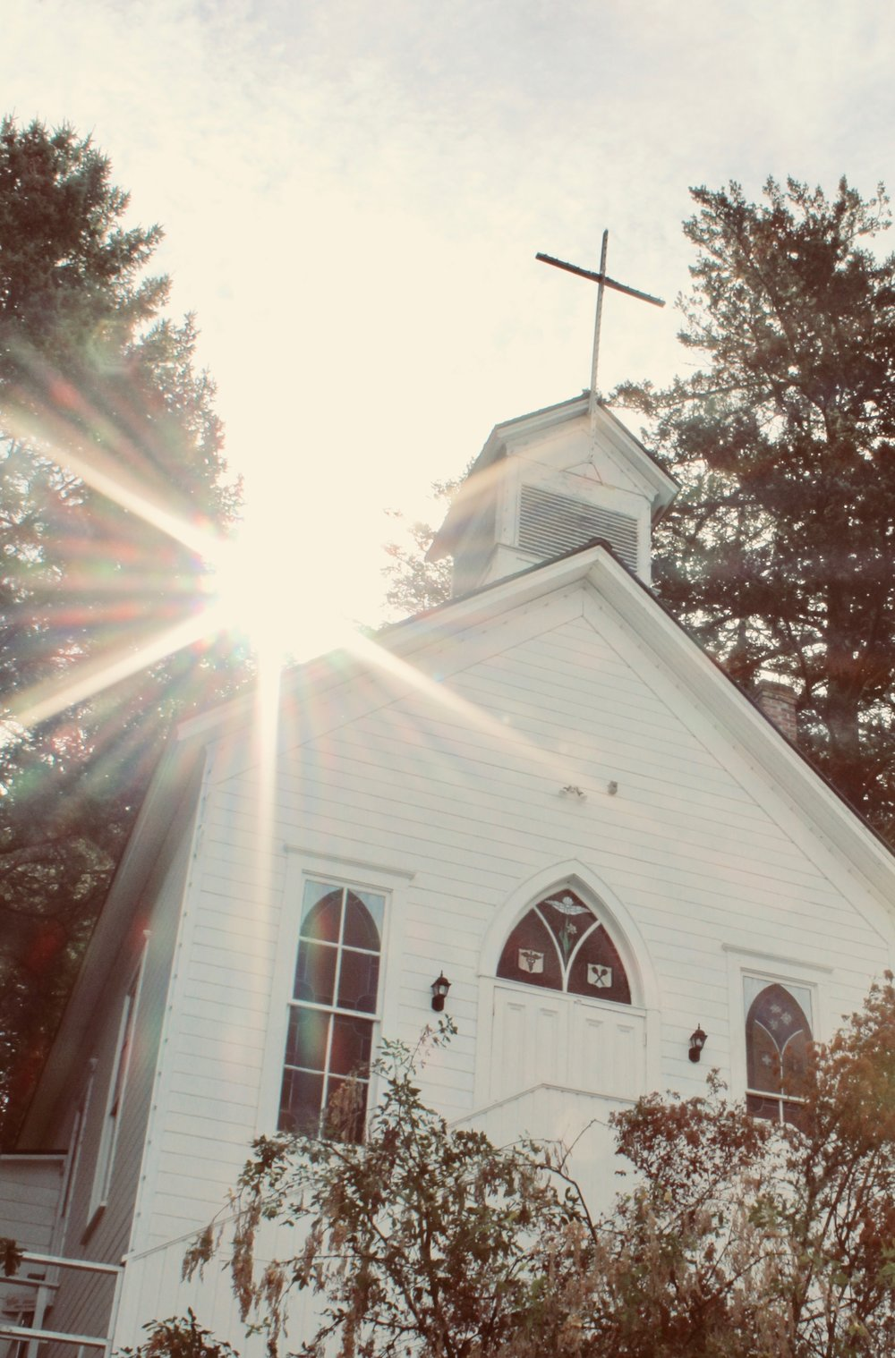 "Dear Kid: When Church Is Dumb - ""In the summer of 2010 I dragged my eight-months pregnant-with-you butt into a car with no air conditioning and drove forty minutes in the Northern California heat to attend church. I hadn't been in years, but a small voice - maybe God, maybe my own desperation - whispered to go. Go to church. Right now.""READ MORE HERE"