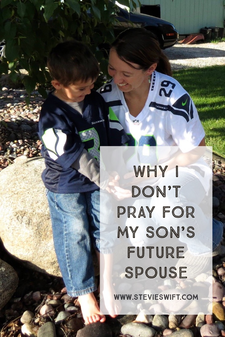 I stopped Praying For My Son's Future Spouse