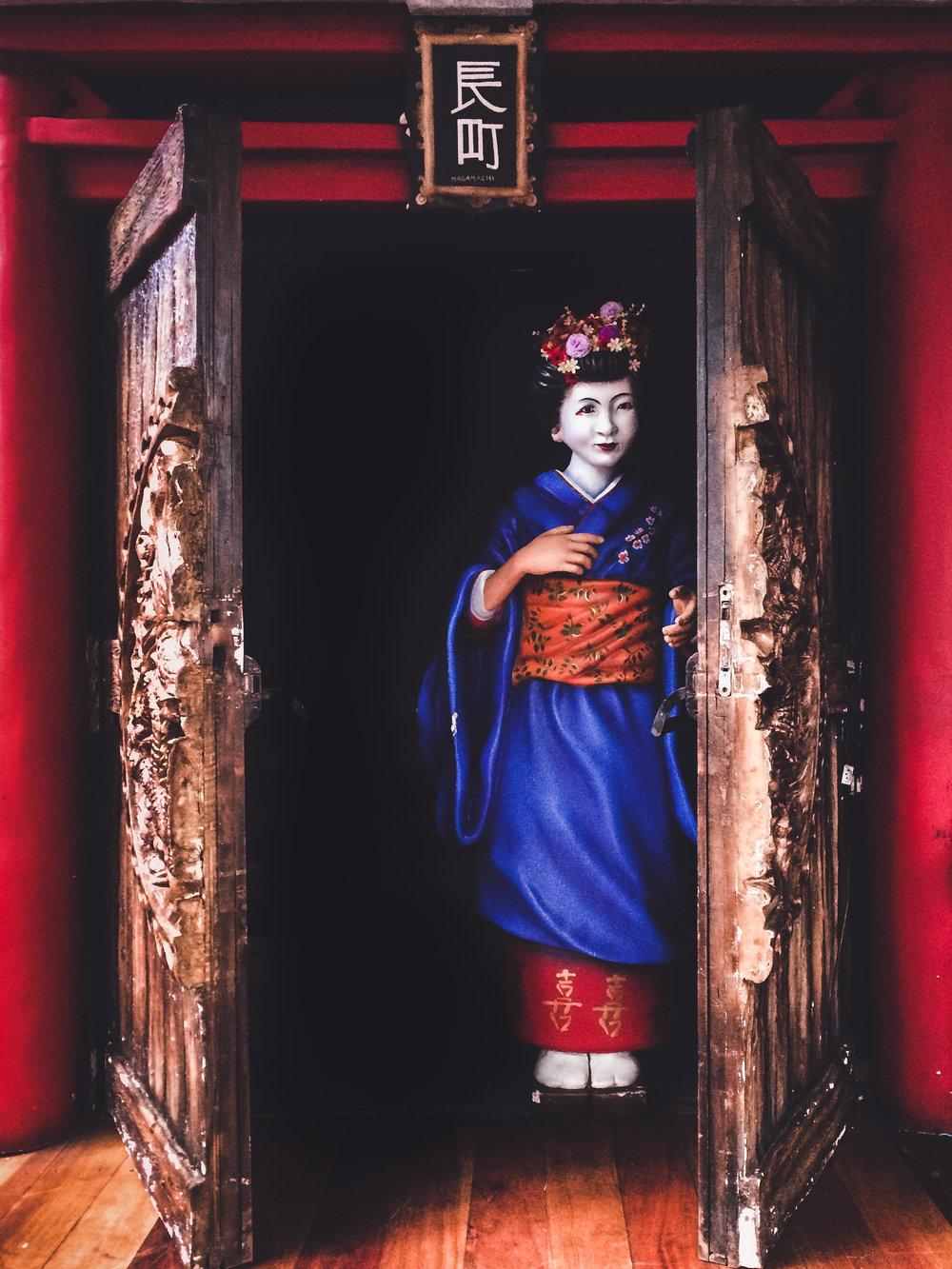 / A door to the Orient