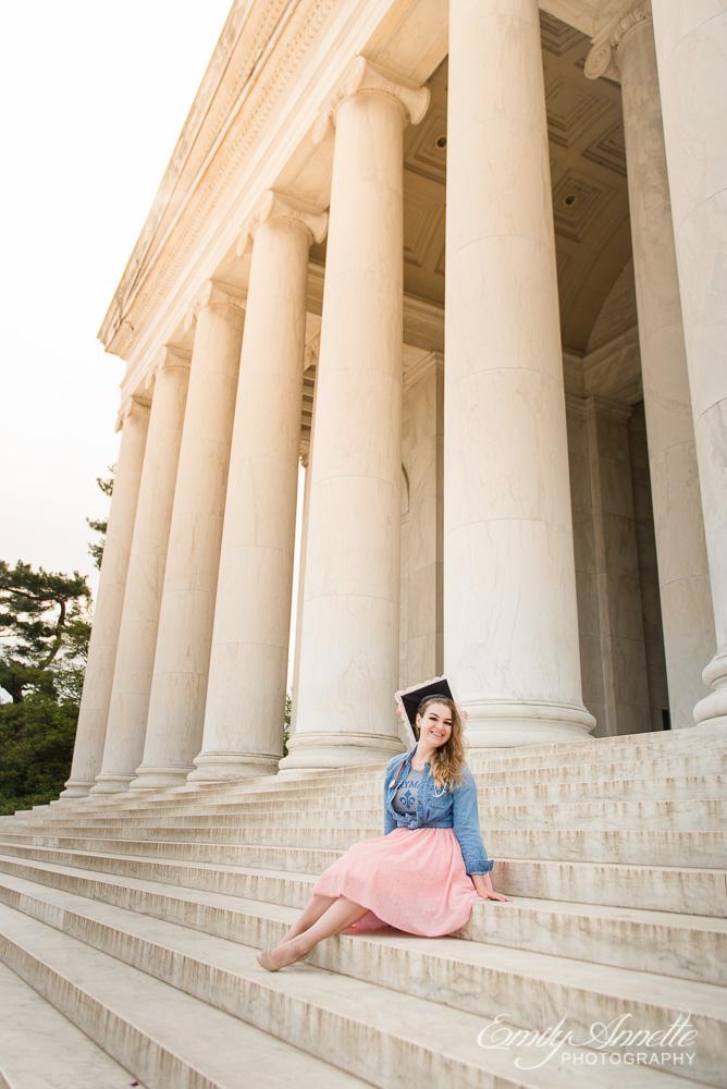 Emily-Annette-Photography-Christy-Nursing-Graduate-Marymount-University-Cap-Gown-Washington-DC-07.jpg