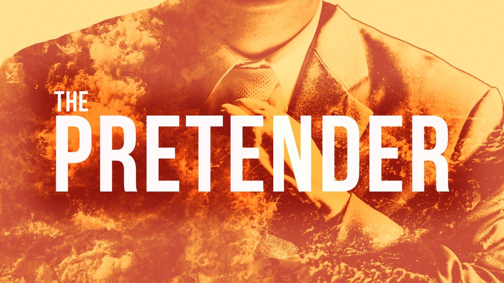 PRETENDER: Sermon Series Artwork