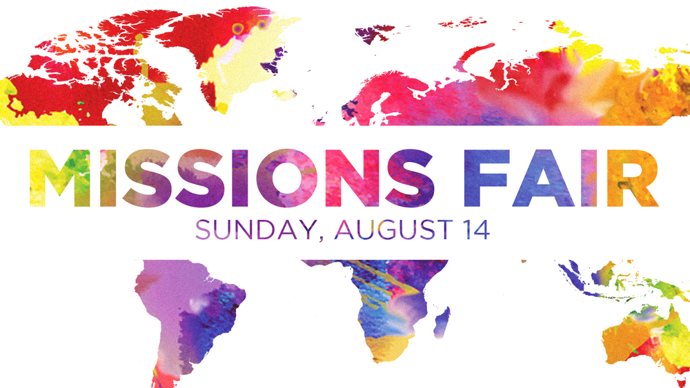 MISSIONS FAIR: Event Branding Package