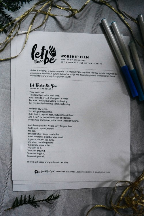 Let There Be Worship Film W Spoken Word Poetry A Sanctified Art