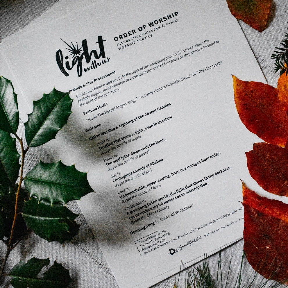 Light With Us Christmas Bundle (1-100 Members) — A Sanctified Art