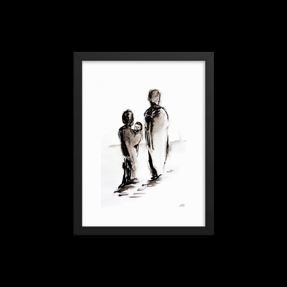 """""""Born a Refugee"""" by Lisle Gwynn Garrity"""