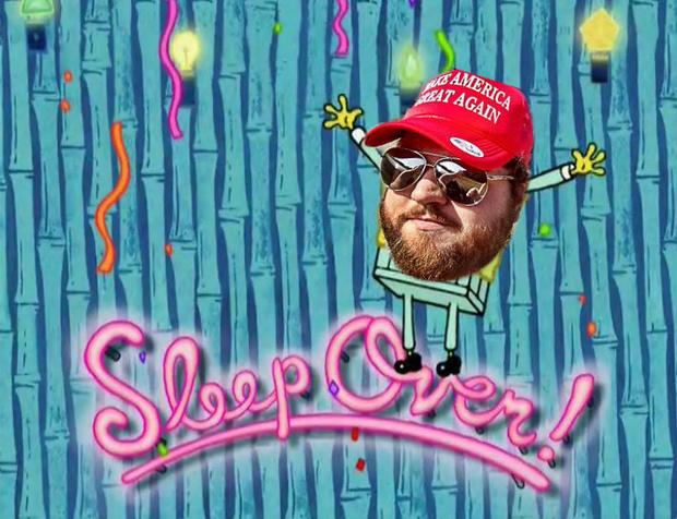 Buck Sleep Over Story.png