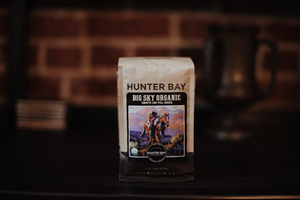 Our winning coffee, Hunter Bay!