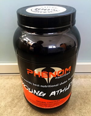 phenom nutrition young athlete natural chocolate (2LB) $39.95