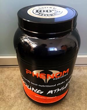 phenom nutrition young athlete natural vanilla (2LB)$39.95