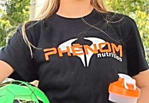 phenom nutrition cotton short sleeved t-shirt $15.95